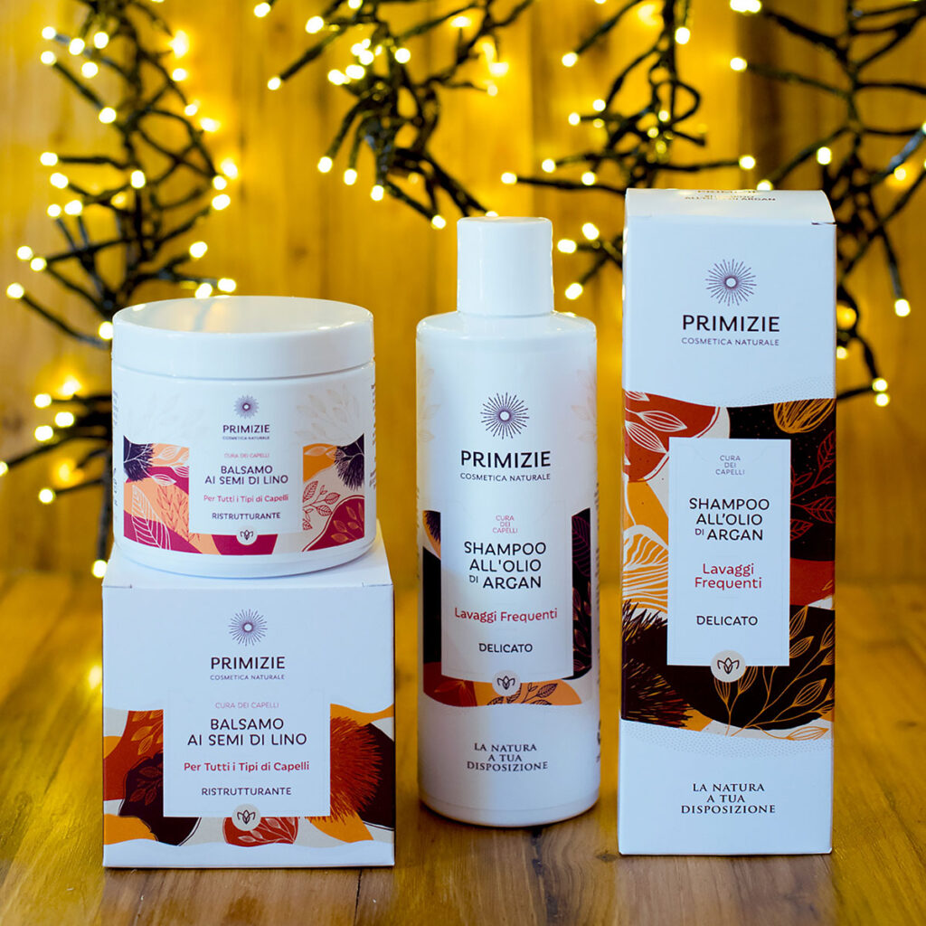 La nuova linea di cosmetica naturale Primizie adatta a tutti i tipi di pelle.